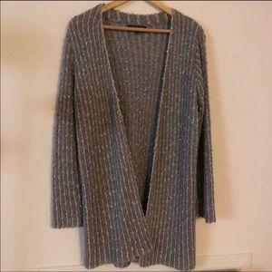 🌼Sweater Sale🌼 Grey Shimmer Sweater Sale